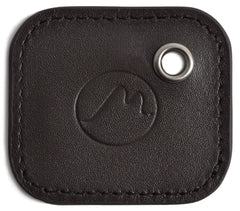 Tile Mate Cover with Keychain - Vegan Leather Key Fob Case for 2nd Gen Tile Tracker by Metier Life - Brown