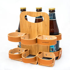 "Walnut Studiolo ""The Spartan Carton"" 6-Pack - Honey/Plyboo"
