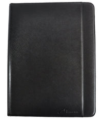 Vegan Saffiano Leather Padfolio Organizer by Metier Life