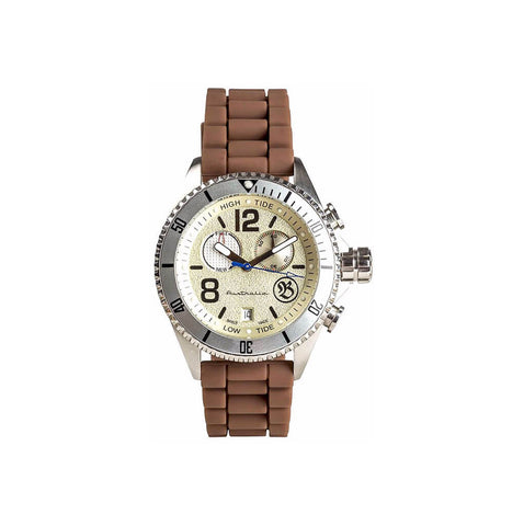 Bausele Australian Swiss Made Men's Yachting II Series Wrist Watch - Beige