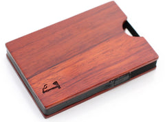 Slim Timber Rosewood Card Wallet