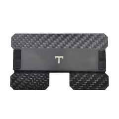 Tribe Carbon Fiber RFID Blocking Minimalist Card Wallet