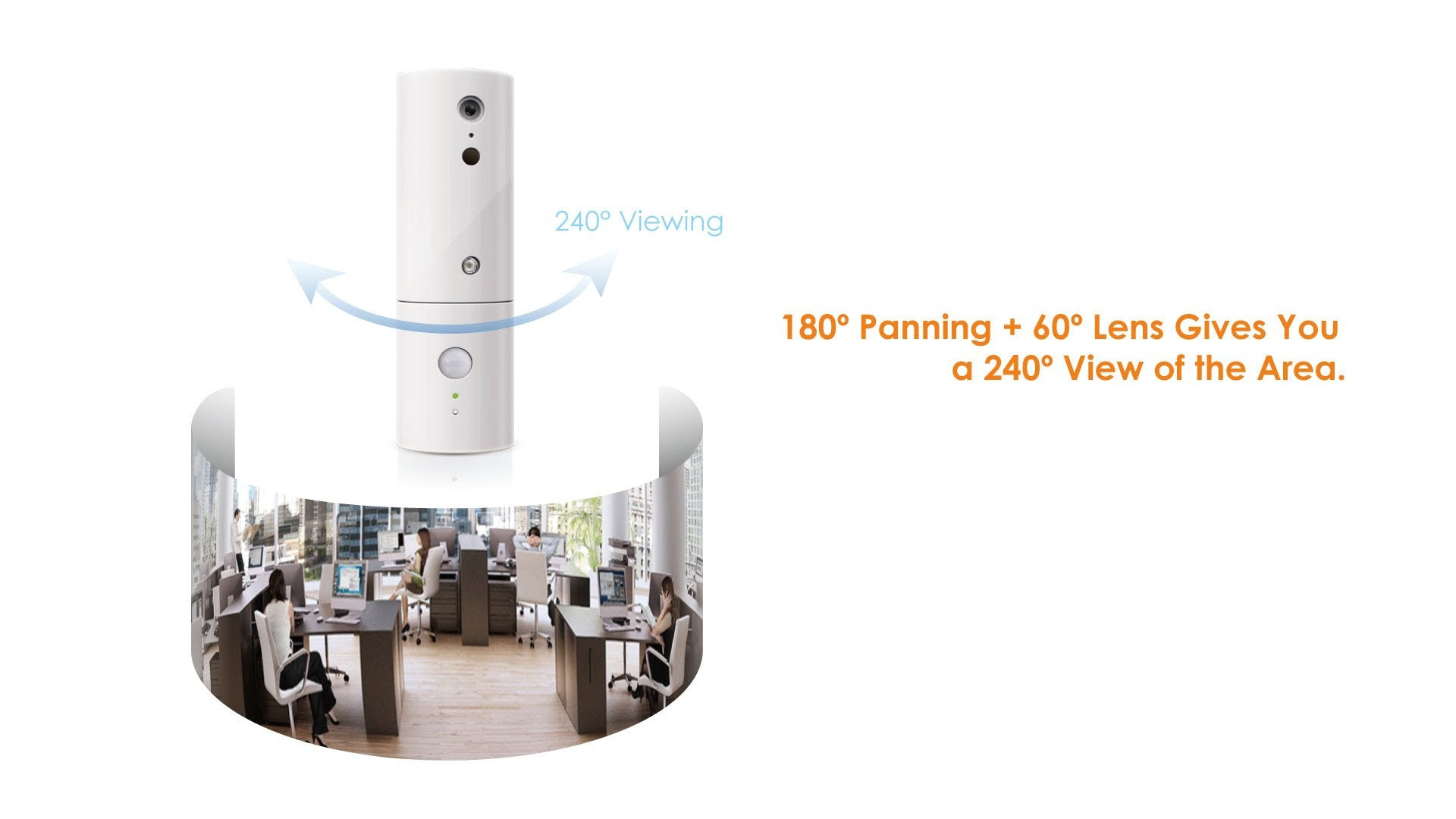 Amaryllo Robot Security iSensor HD Home Security Camera