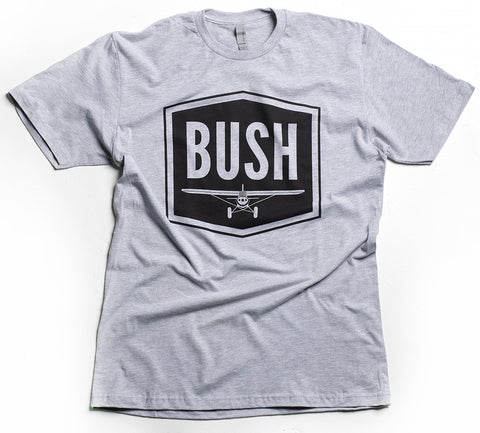 """BUSH"" Mens T (Heather)"
