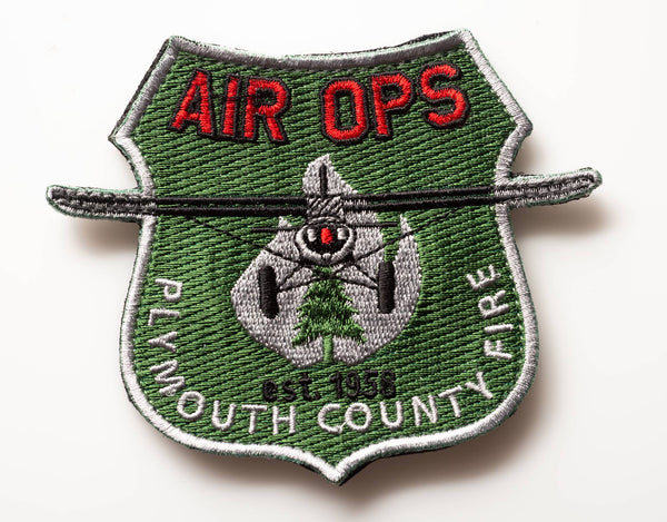 "Plymouth County Fire ""AIR OPS"" Patch"