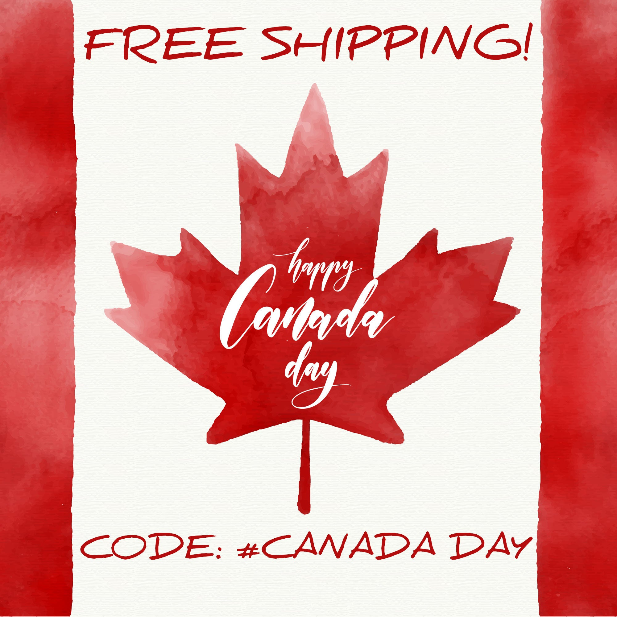 #CanadaDay Promotion: Free Shipping in Canada!