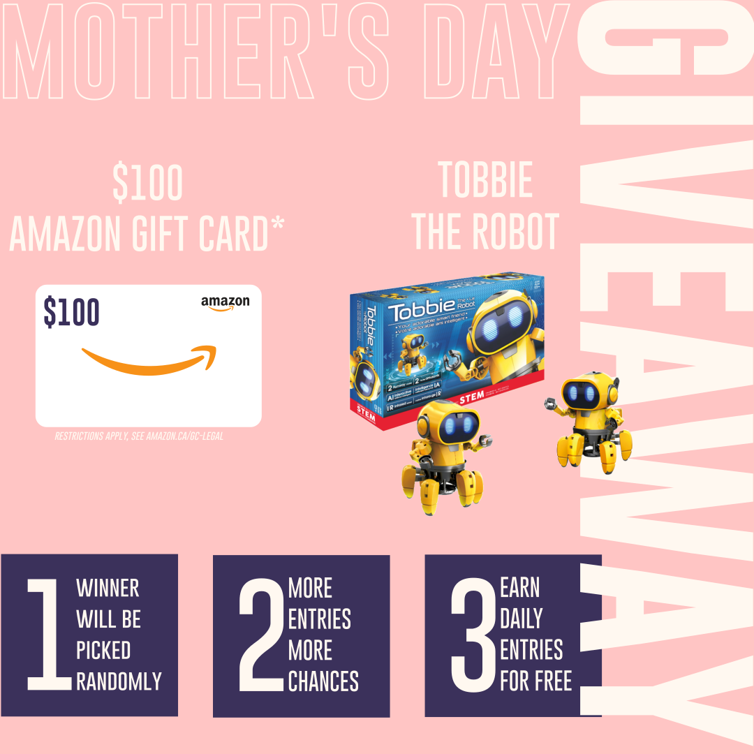Mother's Day Giveaway: Our first ever giveaway!