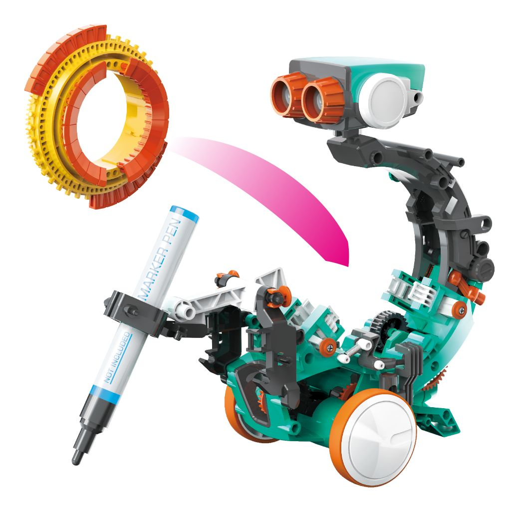 5in1-coding-robot