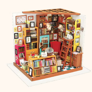 DIY Dollhouse Miniature Kits