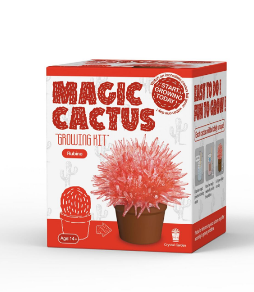 Magic Cactus Crystal-Science-Caliber-Red-Unicorn Enterprise Corps.