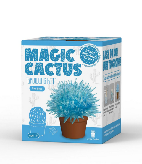 Magic Cactus Crystal-Science-Caliber-Blue-Unicorn Enterprise Corps.