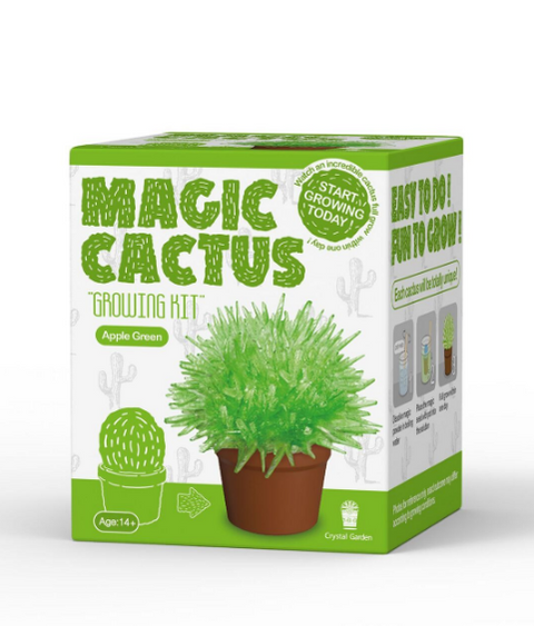 Magic Cactus Crystal - Science - Caliber - Green -Unicorn Enterprise Corps.