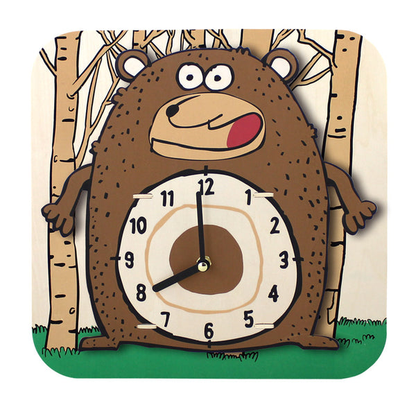 DIY Cartoon Clock-Cartoon Clock-Robotime-Bear-Unicorn Enterprises Corp.