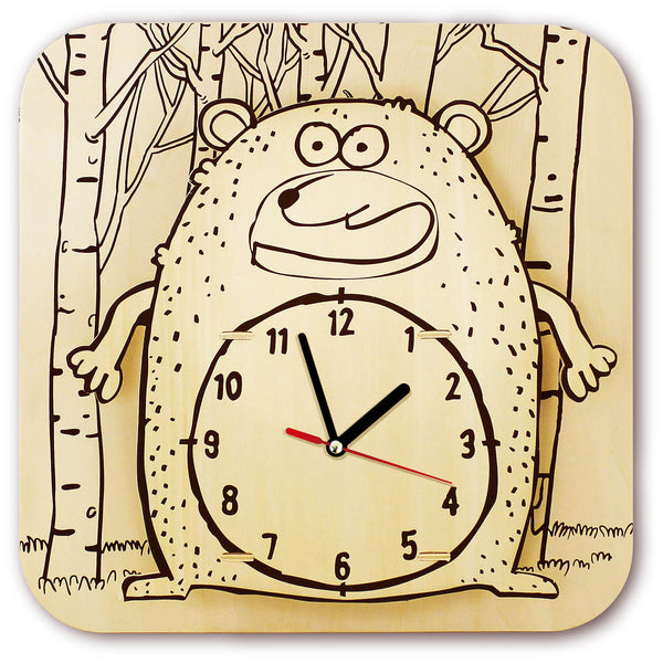 DIY Cartoon Clock-Cartoon Clock-Robotime-Unicorn Enterprises Corp.