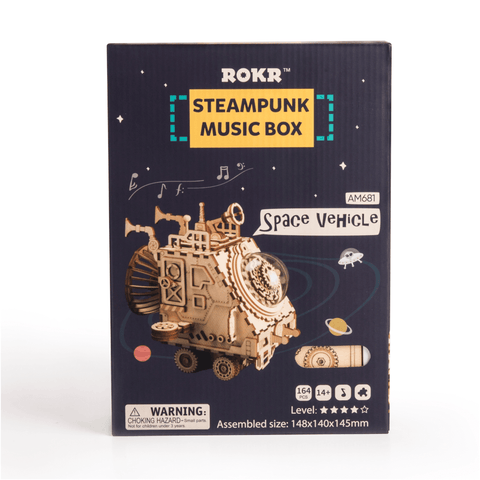 RAM681 - Space Vehicle Steampunk Manual