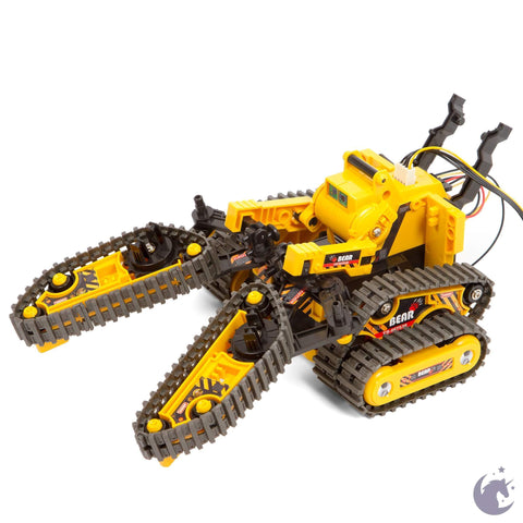 unicorntoys cic kits 3 in 1 all the terrain educational robot kit engineering stem toys for kids CIC21-536