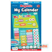 Magnetic My Calendar Blue - Small
