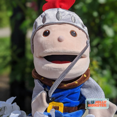 Moving Mouth Knight Hand Puppet