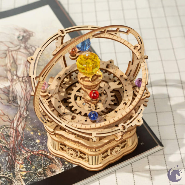 Starry Night Mechanical Music Box