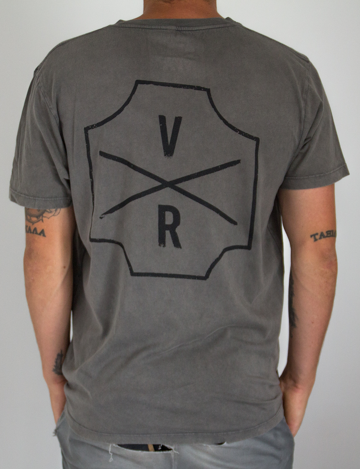 Original Tee - Stone washed grey