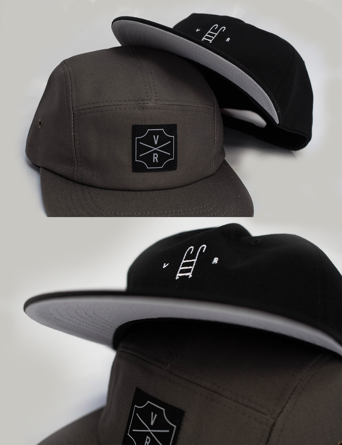 VR Pool unstructured 6 Panel - BLK/White