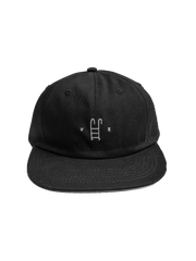 Villa Road Pool Snapback - Black/White