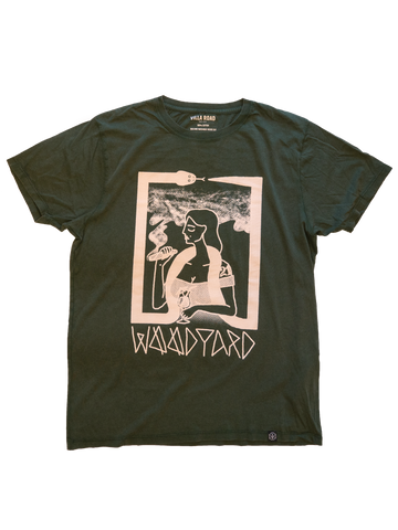 Villa Road X Woodyard Shirt - Washed Green