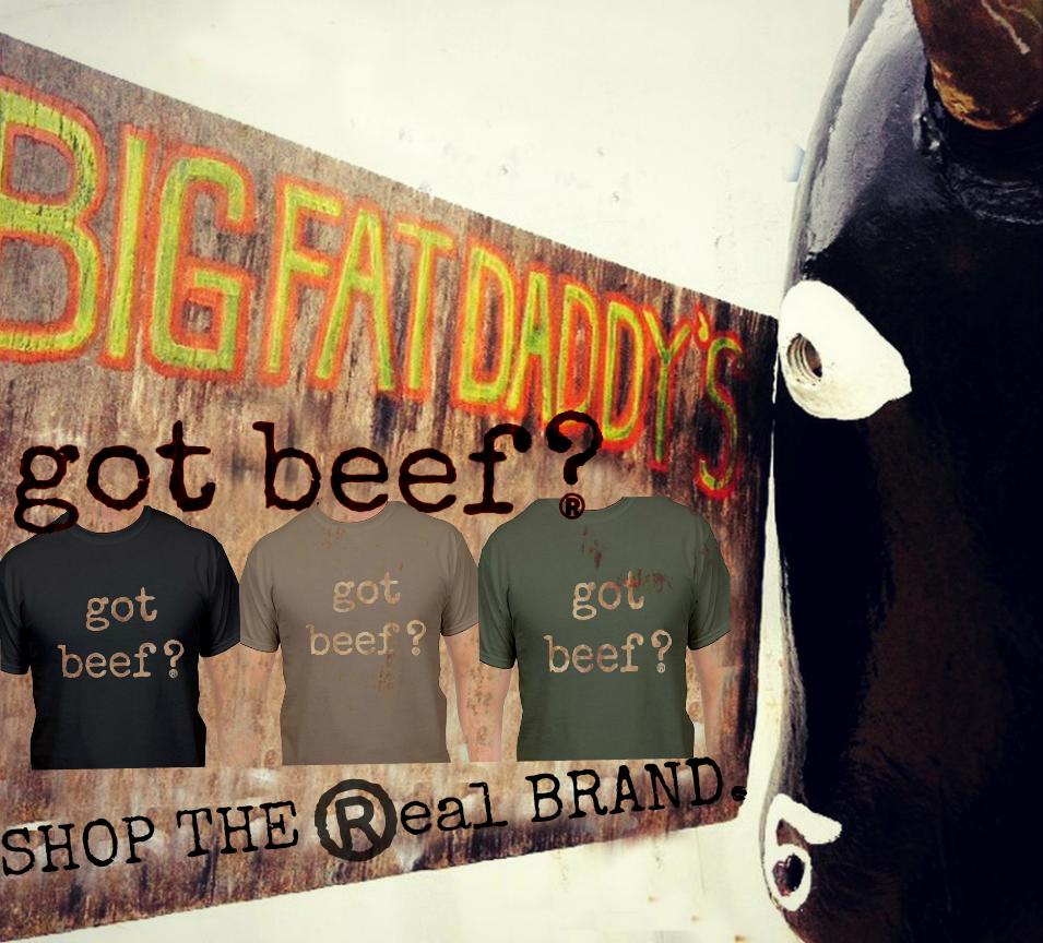 Big Fat Daddy's Got Beef? Authentic Clothing and Gear