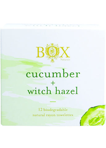 Cucumber + Witch Hazel (Unscented) Cleansing Towelettes