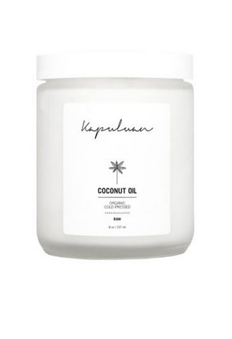Cold Pressed Raw Organic Coconut Oil Jar