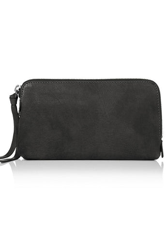 Yvonne Koné x Kjaer Weis Makeup Bag in Grey