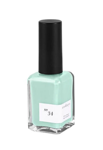 No. 34 (Eggshell Turquoise)