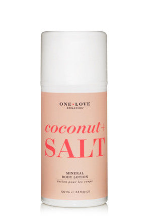 Coconut + Salt MINERAL BODY LOTION