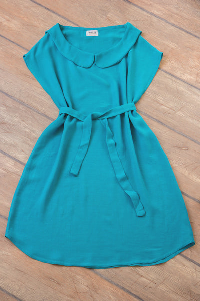 Turquoise Cotton Dress