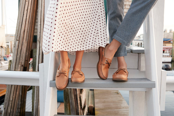 boat shoes with dress pants