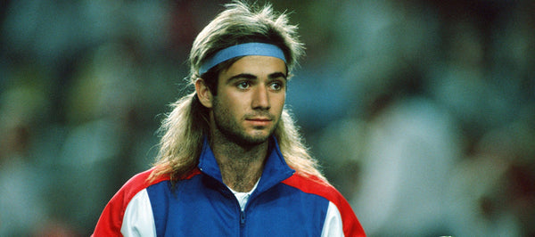Andre Agassi Preppy Style