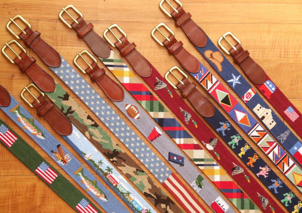 A Guide to Needlepoint Belts
