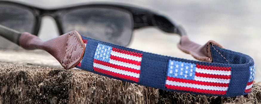Preppy Needlepoint Sunglass Straps & Croakies