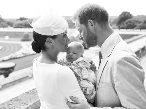 Meghan Markle and Harry with Baby Archie
