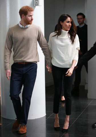 Harry and Meghan Casual