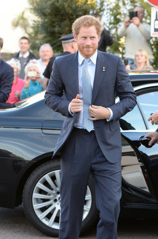 Prince Harry in a tie