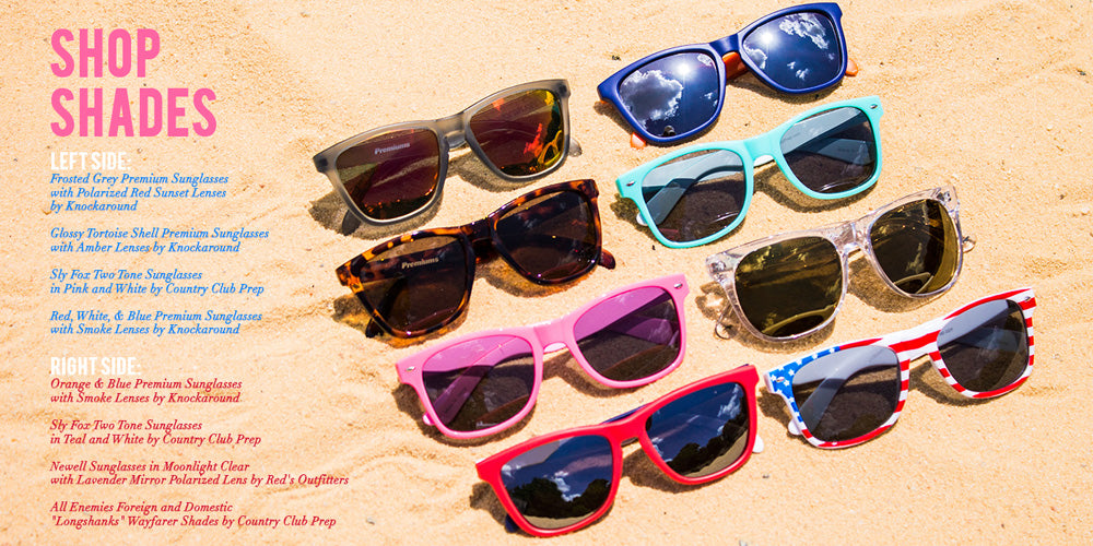 Preppy Sunglasses by Costa, Sperry, Knockaround & More