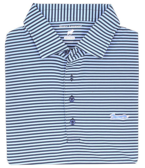 Custom Men's Performance Polo Blue