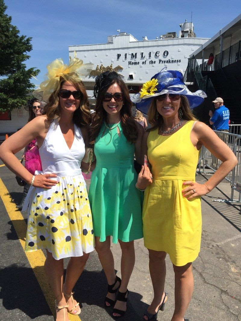 Preakness fashion Pimlico Race Track