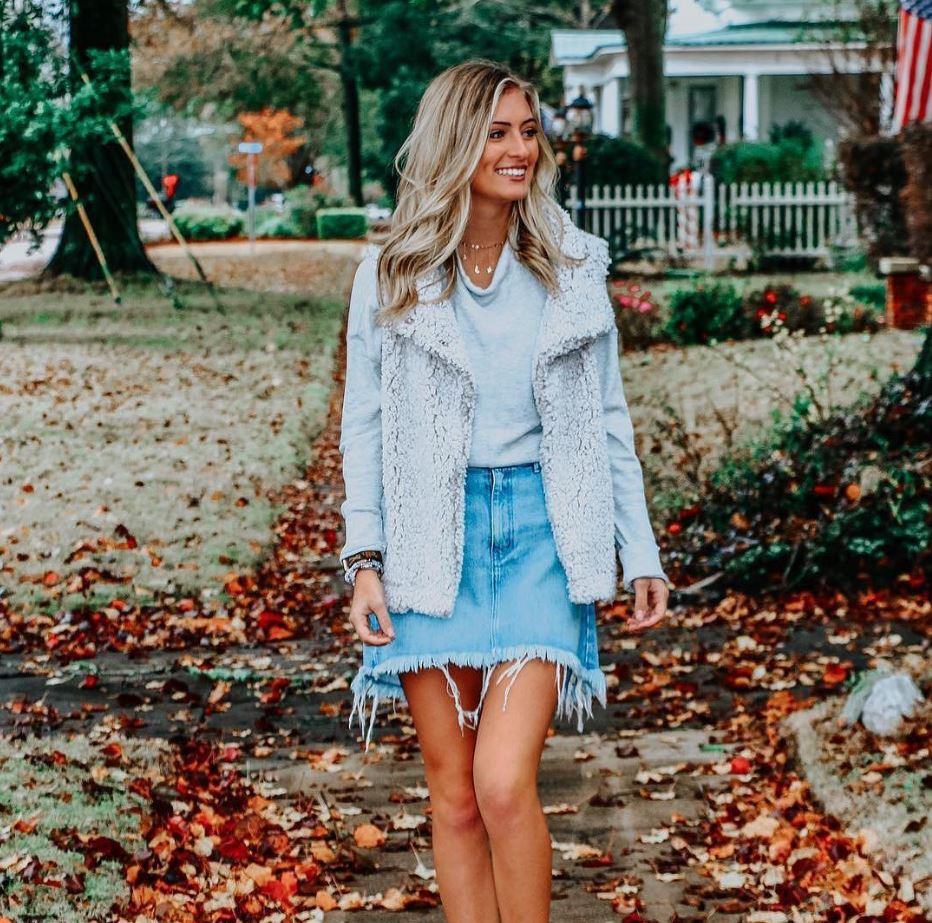 True Grit with Jean Skirt