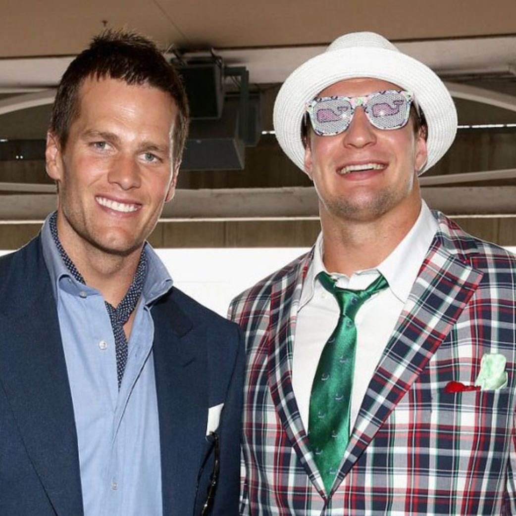 Tom Brady Gronkowski Kentucky Derby