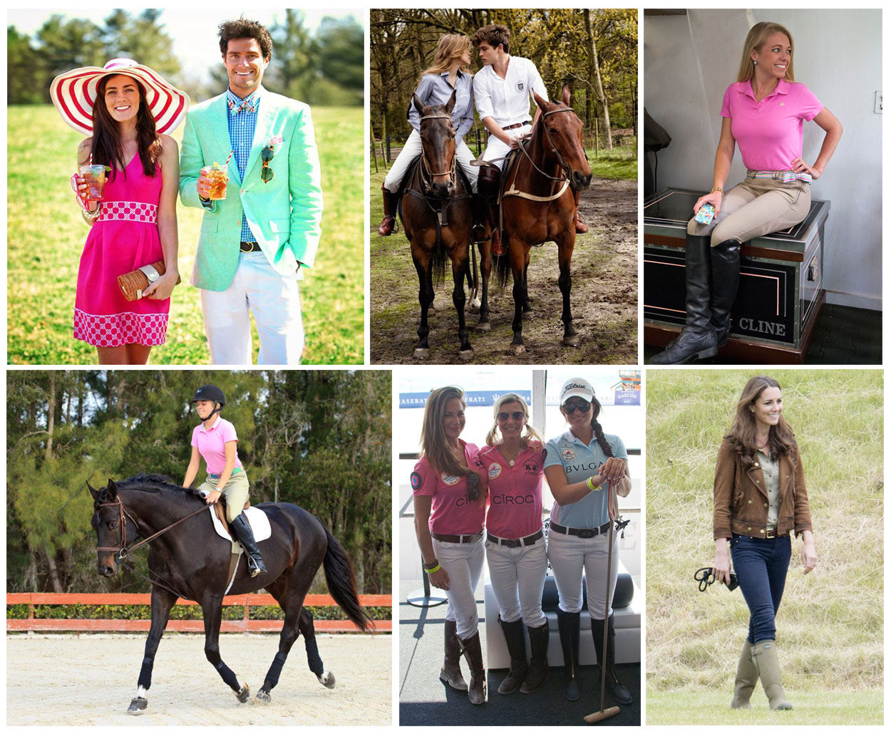 Equestrian Sports Preppy Olympics