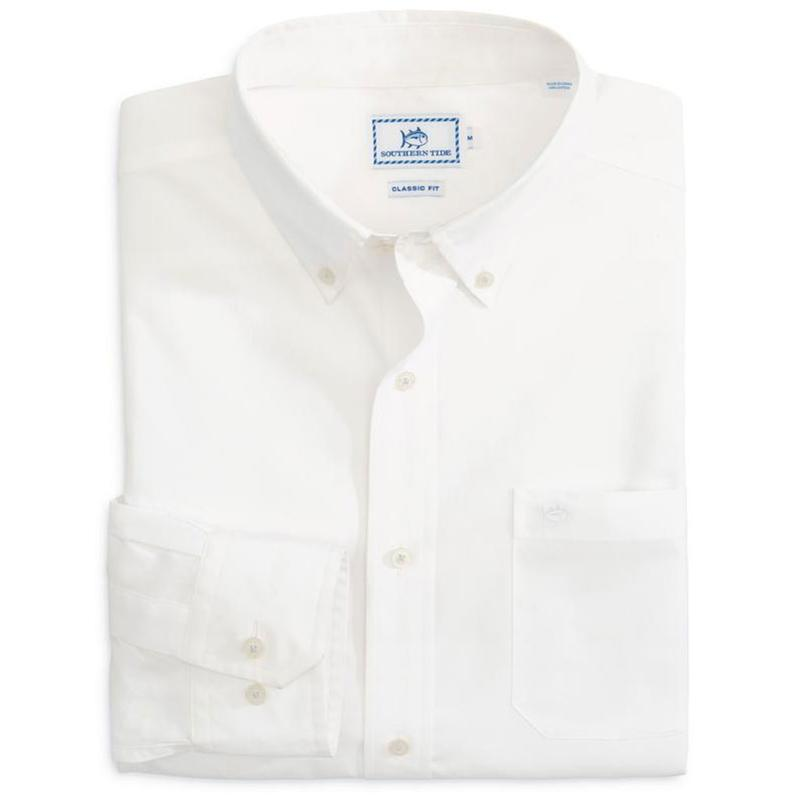White Button Down by Southern Tide