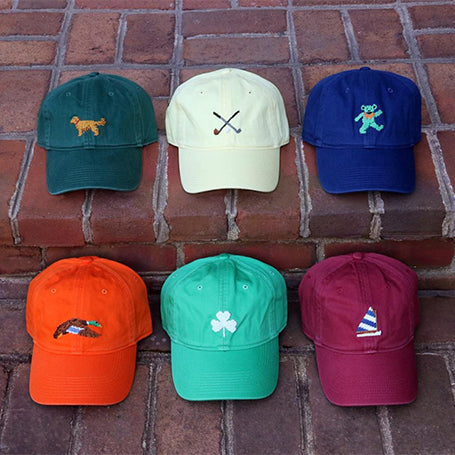Shop Preppy Men's Needlepoint Hats