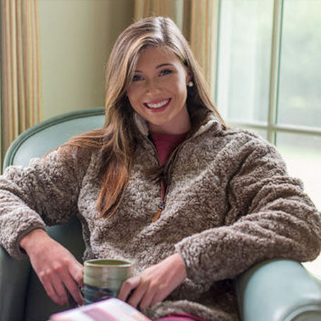 Shop Preppy Women's Popular Sherpa Pullovers
